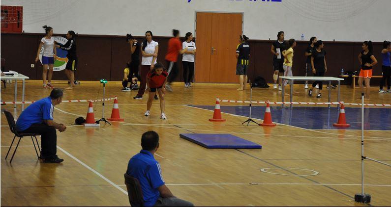 Beden Eğitimi ve Spor Yüksekokulu özel yetenek sınavları sona eriyor