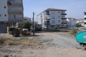 06.10.2015 Kervansaray Mah.Filiz Sitesi Arkası Alt Temel Serimi Çalışması (3)