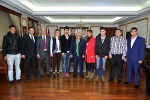 Kırşehir'de, Devlet Korumasındaki 17 Genç Memur Oldu