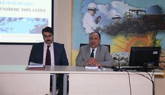 İstatistik Bilgi Sistemi Değerlendirme Toplantısı yapıldı