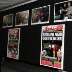 KIRŞEHİR VALİLİĞİ VE BELEDİYE'NİN DESTEĞİYLE GENÇLİK HİZMETLERİ VE SPOR İL MÜDÜRLÜĞÜ TARAFINDAN DÜZENLENEN 'DEMOKRASİ BAYRAMI' FOTOĞRAF SERGİSİ AÇILDI. (ENDERHAN ÖZ/KIRŞEHİR-İHA)