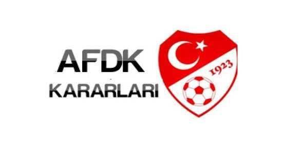 AFDK Ceza Yağdırdı