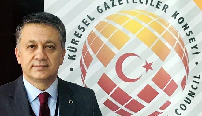 """KÜRESEL Gazeteciler Konseyi (KGK) Kurucu Genel Başkanı Mehmet Ali Dim; """"Geleneksel medya zor durumda"""""""