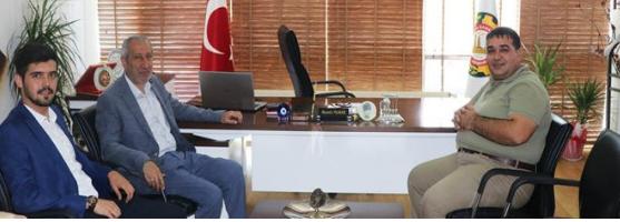 Arslan'dan, Başkan Yılmaz'a ziyaret