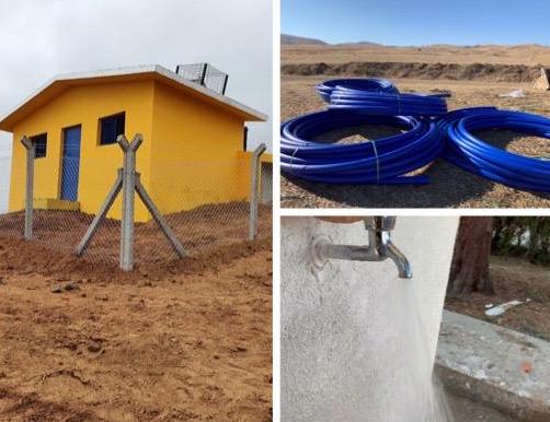 Çiçekdağı ilçesine bağlı 8 köyün içme suyu sorunu çözüldü