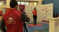 Kovid-19 Sürecinde Antrenörler Dijital Platformdaki Spor Etkinlikleriyle Evlere Konuk Oluyor