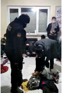 Kırşehir'de Kumar Operasyonu