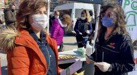 """Kırşehir'de tanıtılan """"En İyi Narkotik Polisi: Anne Projesi""""ne Kadınlar İlgi Gösterdi"""