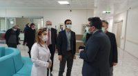 Kırşehir Sağlık Müdürü Bulut, sağlık yatırımlarını inceledi