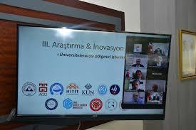 Rektör Karakaya III. Araştırma ve İnovasyon Çalıştayına Katıldı