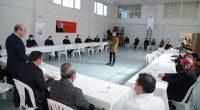 Başkan Ekicioğlu, belediye kurslarına katılan öğrencilerle buluştu
