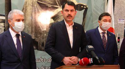 Bakan Kurum, Kırşehir'de Kanal İstanbul Projesi ve İstanbul'un çöp sorununu değerlendirdi: