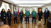 Kırşehir Valisi Akın'a Yeşilay Haftası ziyareti