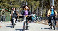 Ahi Evran Gençlik Kampı'na katılan 150 kadın moral buldu