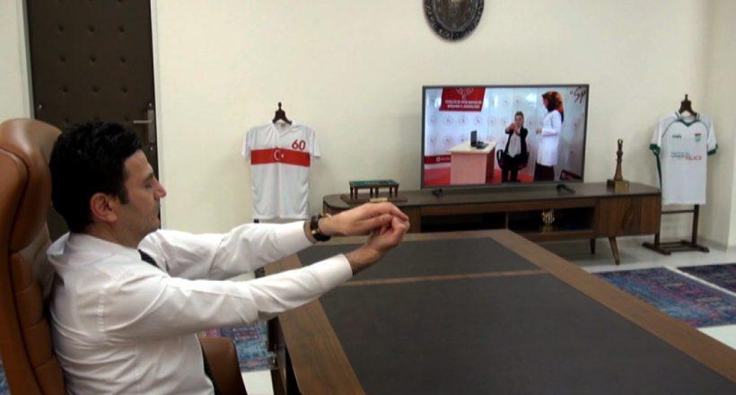 Ofis Çalışanlarına Spor Etkinliği Düzenlendi