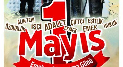 Başkan Ekicioğlu 1 Mayıs İşçi Bayramını Kutladı