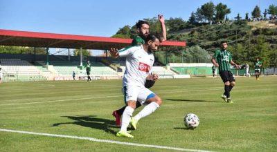 Kırşehir Sakaryaspor maçından gol sesi çıkmadı