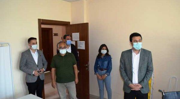 Kırşehir İl Özel İdare personeli aşılandı