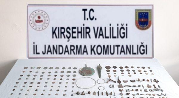 Kırşehir'de tarihi eser operasyonu