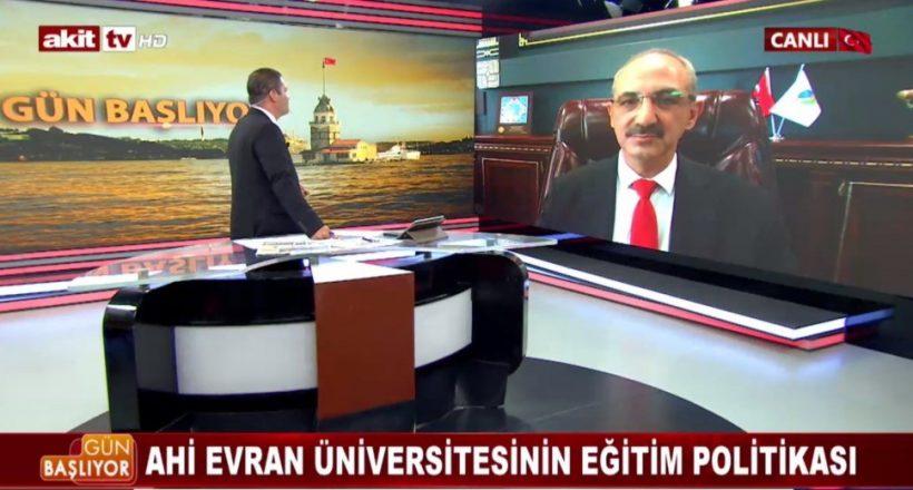 Rektör Karakaya Akit Tv'de ''Gün Başlıyor'' Programına Konuk Oldu