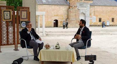 Rektör Yardımcısı Prof. Dr. Ahmet Gökbel Sakarya'ya Ahiliği Anlattı