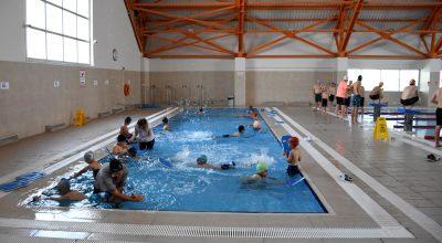 """""""Yüzme Bilmeyen Kalmasın Projesi"""" bozkırın ortasındaki Kırşehir'de ilgi görüyor"""