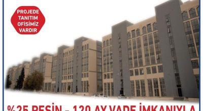 Şanlıurfa'da satılık 54 rezidans daire ve 32 iş yeri
