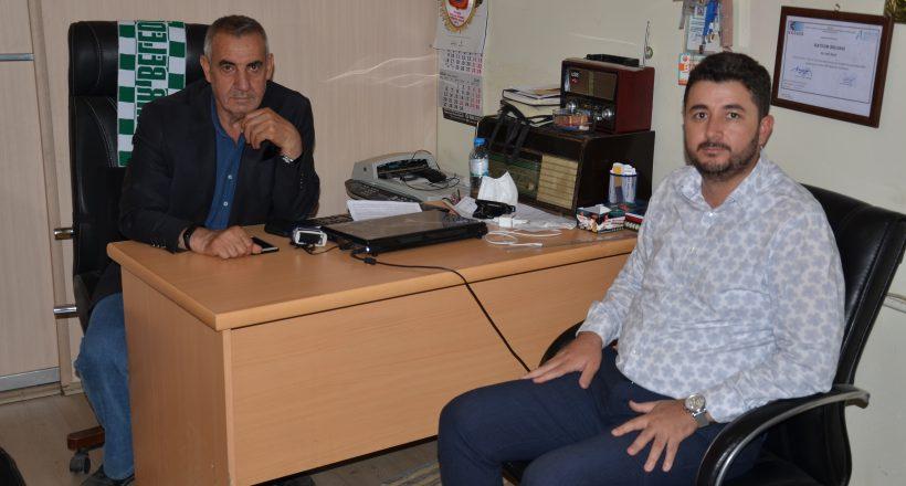 MÜSİAD Kırşehir Şube Başkanı Ömer Ali Öz'den Gazetemize Ziyaret