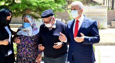 Kurban Bayramı Arifesinde Şehitlik Ziyaret Edildi