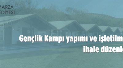 Tomarza Belediyesi Gençlik Kampı için irtifak hakkı tesis edecek