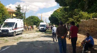 Kırşehir'de beton mikserinin çarptığı kadın öldü