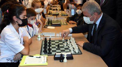 2021 Uluslararası Ahilik Yılı Açık Satranç Turnuvası Kırşehir'de başladı