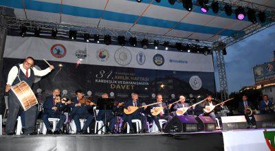 Ahilik Haftası Kutlamaları Neşet Ertaş türküleriyle şenlendi