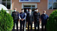 Kırşehir Valisi Akın, afet bölgesinde görev yapan personele teşekkür belgelerini verdi