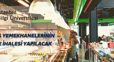 İstanbul Bilgi Üniversitesinden yemekhane işletme ihalesi