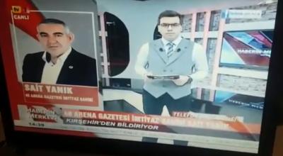 Sait Yanık TV1'de Kırşehir Gündemini Değerlendirdi