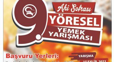 Kırşehir'de Ahi Sofrası Yemek Yarışması yapılacak