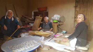 Kırşehirlilerin vazgeçilmezi Yufka Ekmek Sofralarda yerini alıyor