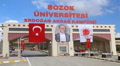 Yozgat Bozok Üniversitesi 5 Öğretim Üyesi alıyor
