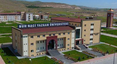 Nuh Naci Yazgan Üniversitesi 8 Öğretim Üyesi alıyor