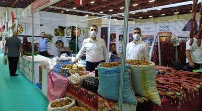 Kırşehir'in yöresel ürünleri Antalya'da tanıtılıyor
