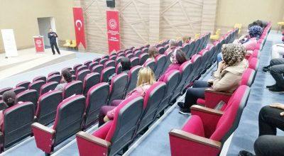 Kırşehir Adliyesi ile Aile ve Sosyal Hizmetler İl Müdürlüğü Personellerine eğitim verildi