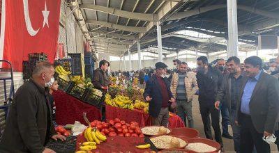 Başkan Ekicioğlu'ndan Esnaf Ziyareti