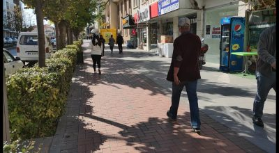 Kırşehir'de Güneşli Soğuk Hava Hakim