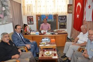 Kırşehir Emniyet Müdürü Sıtkı Akgül'den Gaziler Derneği'ne ziyaret