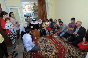 Kırşehir Belediyesi'nden ezidilere yardım