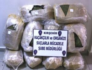 Kırşehir'de uyuşturucuyla mücadele