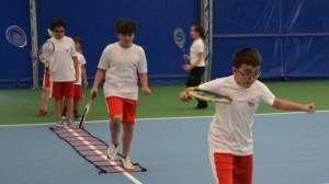 Kort Tenisi'nde çalışmalar devam ediyor