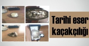 Mucur'da tarihi eser kaçakçılığı