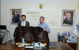 Bekir Bozdağ Kırşehir Belediyesi'ni ziyaret etti